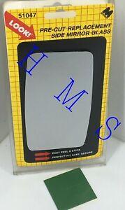 MOTOMITE DORMAN 51047 REPLACEMENT LEFT DOOR MIRROR GLASS FITS FORD MERCURY 71-85