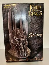 More details for lord of the rings limited edition sauron ceramic cookie jar limited to 2000