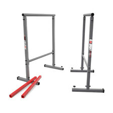 PARALLEL DIP BARS PARALLETTES TALL DIP STATION CROSSFIT GYMNASTICS  UK STOCK