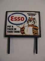 Esso, Put a Tiger in Your Tank - Model Railway Billboard Sign - N & OO Gauge