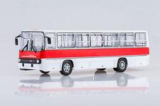 Ikarus 260 red-white Soviet Bus 1:43