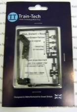 Train-Tech DS4L DCC Signal (Left Hand Feather) 3 Aspect Distant OO Gauge