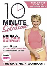 10 Minute Solution - Carb And Calorie Burner DVD Workout Unwanted Gift Present