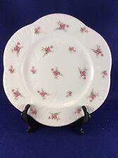 "Shelley Bridal Rose 10 7/8"" Dinner Plate (Dainty Shape)"