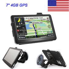 "4GB 7"" Truck Car GPS Navigation Navigator System Touch Screen"