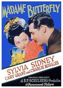 Madame Butterfly - 1932 - Sylvia Sidney Cary Grant Gering pre-Code Drama DVD