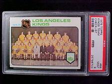 1975 Topps Hockey #86 Los Angeles KINGS Team card.  PSA-9 MINT
