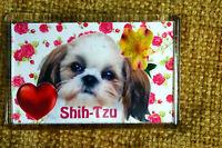 Shih Tzu Dog Fridge Magnet 77x51mm Birthday Gift Shihtzu Gift Mothers Day Gift