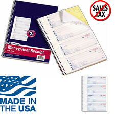 Adams Money and Rent Receipt Book Record Cash Check Payments 2-Part Carbonless