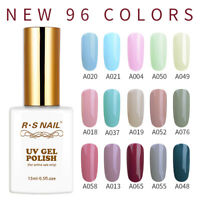 RS NAIL UV LED Gel Nail Polish Soak Off Gel Nails 0.5fl.oze New 96 Colors Range