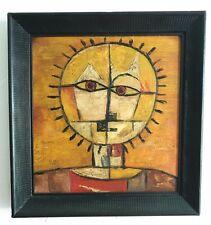 Aft. PAUL KLEE DE KOONING DALI Abstract Surreal Portrait Cubist Sun Oil Painting