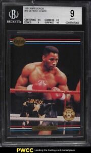1991 Ringlords Lennox Lewis #10 BGS 9 MINT