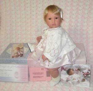 """Lee Middleton Baby's First Prayer toddler by Reva Schick, 22"""" full limbs"""