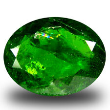 4.97 ct Incomparable Oval Shape (13x10 mm) Green Chrome Diopside Loose Gemstone