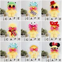 Mini Lalafanfan Cafe Mimi Yellow Duck Plush Toy Stuffed Doll Cute Kids Toy Hot