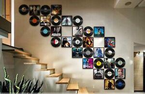 Retro Art Records Movie Poster Morden Wall Decoration Home Shop Art Deco