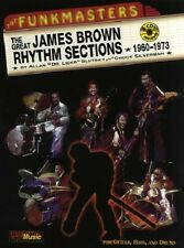 Partition+CD pour guitare percussions - James Brown - The Funkmasters