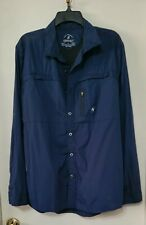 Gramicci Men's L Button Down L/S  Outdoor Fishing Camping Shirt Packable Vented