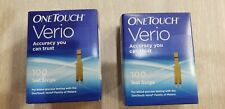 One Touch Verio Test Strips (200 Count) expires 06/30/2021