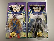 Masters Of The WWE Universe Rey Mysterio Undertaker Action Figure Toy Pack Set