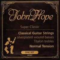 John Hope JH347 Super Classic Chitarra Concerto Titalon Corde Set Strings