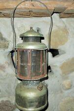 Coleman Quick-Lite Gas Lantern ~ Mica Globe Double Mantle Barn Find