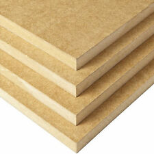5 x MDF Medium Density Fibre Board sheets 600mm x 900mm x 6mm