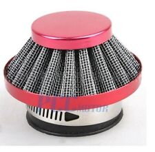 44MM RED AIR FILTER CLEANER PIT DIRT BIKE GY6 MOPED SCOOTER MOPED AF13S