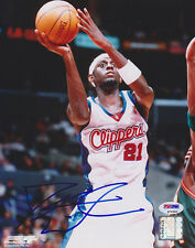 Darius Miles SIGNED 8x10 Photo Los Angeles Clippers PSA/DNA AUTOGRAPHED