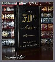 The 50th Law by 50 Cents & Robert Greene Success New Deluxe Hardcover Gift