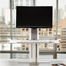 Single Monitor Humanscale Quickstand Large Sit-Stand Desk Height Adjustable