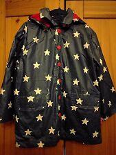 Toby Tiger Navy Star Print Rainproof Jacket 3-4 Years BNWT!!