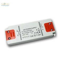 "LED Trafo ""SLIM"" 12V DC 12W Transformator für LEDs EVG Treiber, Driver, Netzteil"