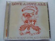 UNCUT CD Love Above All Jana Hunter Hecuba Feathers Papercuts Rio En Medio