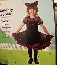 LEOPARD GIRL COSTUME FOR 3T - Halloween