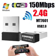 USB2.0 Wireless Adapter 802.11n/g/b 2.4GHZ 150Mbps Wifi/WLAN nano Mini RT7601