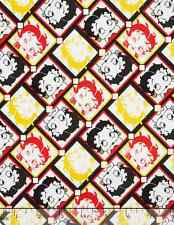 Betty Boop - Betty Boop Tiles Camelot 100% cotton Fabric by the yard