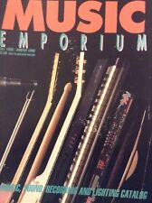 Music Emporium Magazine Recording & Lighting Fall 1989/Winter 1990 111518nonrh