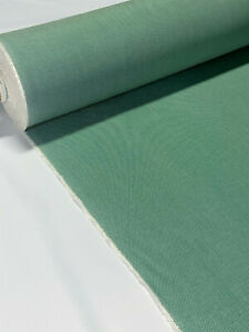 """Sunbrella Closeout Green Sailcloth Outdoor Upholstery UV Canvas Fabric 54""""W DWR"""