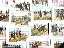 18 planches illustrées Unser Heer uniformes de l'armée allemande Paul Kittel