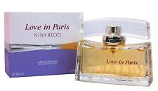 Nina Ricci Love in Paris Perfume for Women Eau de Parfum Spray 50ml /1.7 Oz New