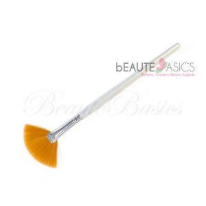 Taklon Fan Mask Brush Acid Applicator for Glycolic Skin Peel/Masques (SB005x12)