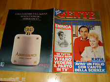 GENTE=1986/46=KATIA RICCIARELLI=MONTE BERICO=BURT LANCASTER=ENRICA BONACCORTI=