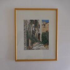 Reproduction lithographie peintre painter Didier LOCULANO France