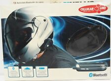 CELLULAR LINE INTERFONO BT HELMET AURICOLARE BLUETOOTH CASCO CARDO SYSTEM MOTO