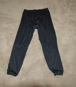 Men's Patagonia Black Capilene Baselayer Pants size XL Base Layer