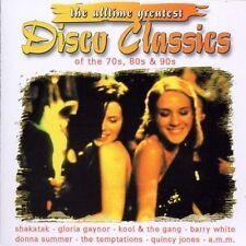 Disco Classics of the 70s, 80s & 90s Donna Summer, Dan Hartman, Jackson.. [2 CD]