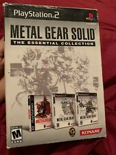 Metal Gear Solid: The Essential Collection (Sony PS2, 2008) CIB - Tested & Works