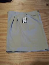 Cleveland Indians'  Polyester Shorts by Haley SZ 10...Color: Khaki...NWT