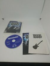 Rock Band (Wii, 2008) - Complete!! FREE DOMESTIC SHIPPING.